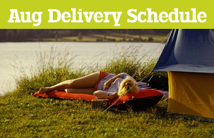 August Bank Holiday Delivery Schedule