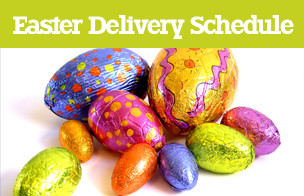 Essential Easter Delivery Schedule