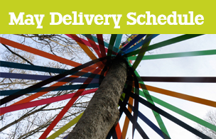May Bank Holiday Delivery Schedule